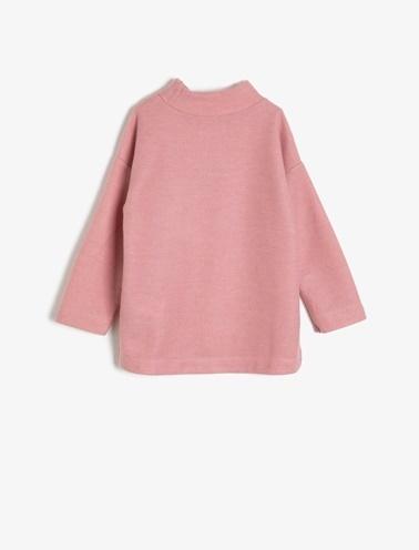 Koton Kids Baskılı Sweatshirt Pembe